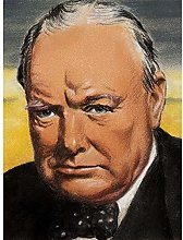 Tymim Faces WWII War UK Prime Minister Churchill