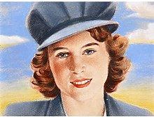 Tymim Faces WWII War UK Princess Elizabeth Windsor