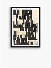 Type 1 - Framed Print & Mount, 76 x 56cm, Black