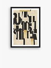 Type 2 - Framed Print & Mount, 76 x 56cm, Black