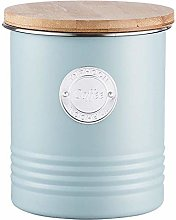 Typhoon 1 Litre Living Coffee Canister, Steel,