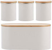 Typhoon 1401.065 Essentials 4pc Set Oatmeal,