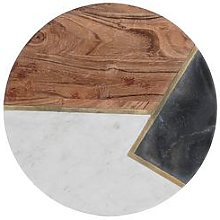 Typhoon Elements Marble And Acacia Chopping Board