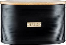 Typhoon Otto Bread Bin with Bamboo Lid, 10 Litre,