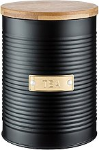 Typhoon Tea Storage Canister with Bamboo Lid,