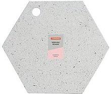 Typhoon Terrazzo Hexagonal Chopping Board