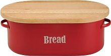 Typhoon Vintage Kitchen Bread Bin, Red