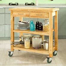 Tyra Kitchen Cart Brambly Cottage