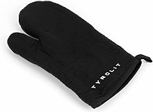 Tyrolit Life Oven Gloves Black with Rubber Grip