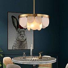 TYXL chandelier All Copper Glass Light Luxury