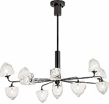 TYXL chandelier Black Crystal Hanging Lamp