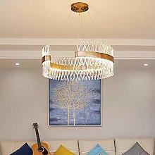 TYXL chandelier Luxury Gold C-shaped Crystal
