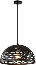 TYXL chandelier Modern Design Black Hollow Wrought