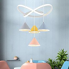 TYXL chandelier New Personality LED Macarons Four
