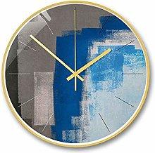 TYXL wall clocks Gray Impressionist 14 Inch Nordic