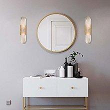 TYXL Wall Light Natural Marble Wall Lamp Gold 10.3