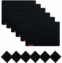 U'Artlines Felt Placemats and Coasters, Heat