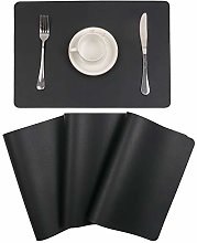 U'Artlines Placemats Sets of 4 Faux Leather