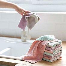 U/K Pack of 4 Kitchen Cloth Dish Towels, Premium