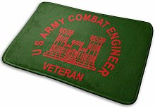 U S Army Combat Engineer Veteran Doormat Entrance
