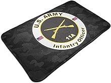 U.S Army MOS 11A Infantry Officer Door Mat