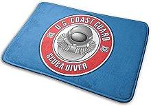 U.S. Coast Guard Scuba Diver Badge Non-Slip