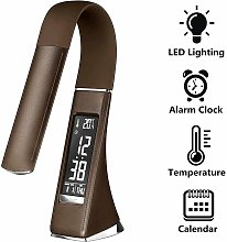 U2 LED Desk Lamp with Dimmable Screen, Alarm