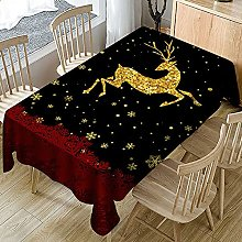 UAANG Outdoor Table Cloth,Christmas Table Cloth