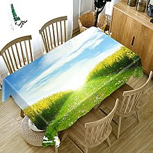 UAANG Outdoor Table Cloth,Washable Table Cloth