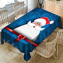 UAANG Party Table Cloth,Christmas Table Cloth