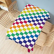 UAANG Party Table Cloth,Ethnic Washable Table