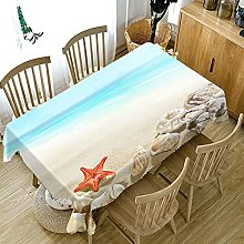 UAANG Party Table Cloth,Washable Table Cloth Linen
