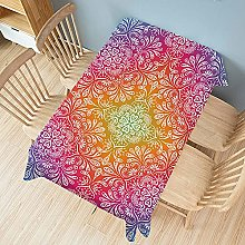 UAANG Party Table Cloth,Washable Table Cloth