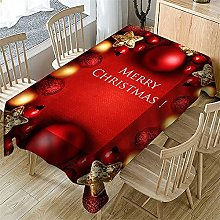 UAANG Party Table Cover,Christmas Table Cloth