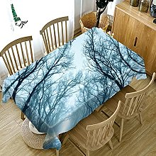 UAANG Party Table Cover,Washable Table Cloth Linen