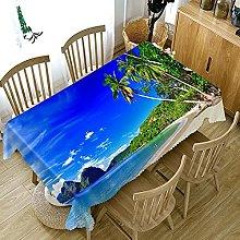 UAANG Table Cloth Rectangular,Washable Table Cloth