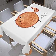 UAANG Table Cloth Rectangular,Waterproof Table