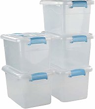 Ucake Plastic Storage Organizer Box Bin with Lids