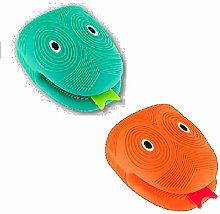 udc Pylones Set of 2 Silicone Oven Gloves (1