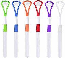 Udewo 6 PCS Tongue Scraper, Dental Tongue Cleaner