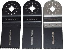 Ufixt - Multi Tool Blades 35mm Wide HCS Bio Metal