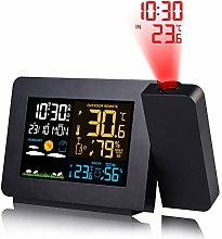 UFLIZOGH Wireless Weather Station Projection