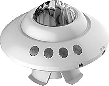 UFO Design LED Star Projector Light, Galaxy Aurora