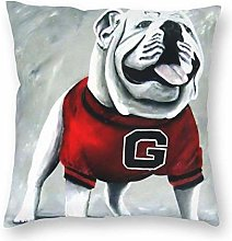 ~ UGA Georgia Bulldogs Unisex Pillow Outdoor