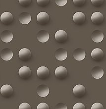 UGEPA non-woven wallpaper, black, J66708