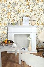Ugepa, Yellow, L136Fleece Wallpaper