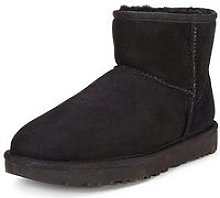 Ugg Classic Ii Mini Boot - Black/Stormy Grey