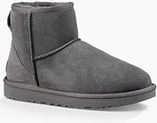Ugg Classic Mini Ii Ankle Boot - Grey