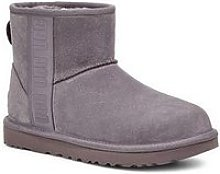 Ugg Classic Mini Side Logo Ankle Boot - Grey