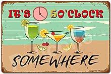 UHVD It's 5 o'clock, Somewhere, 8x12